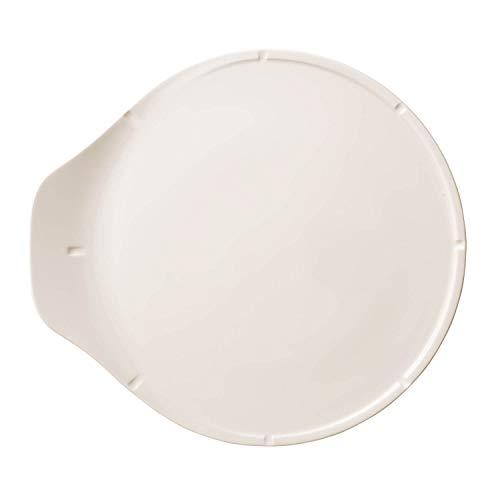 Villeroy und Boch Pizza Passion Pizzaplatte, Premium Porzellan, Weiß