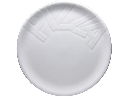 Creatable, 16581, Serie Gourmet, 32cm 4tlg Pizzateller, Porzellan, weiß, 32 cm, 4-Einheiten