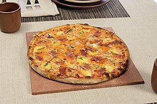 Pizzateller aus Stein